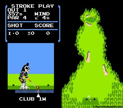 kiss golf nes