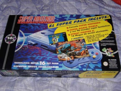 pack super nintendo street figther